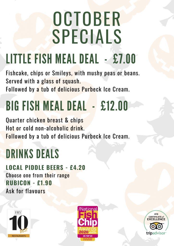 Fish 'n' Fritz October Specials