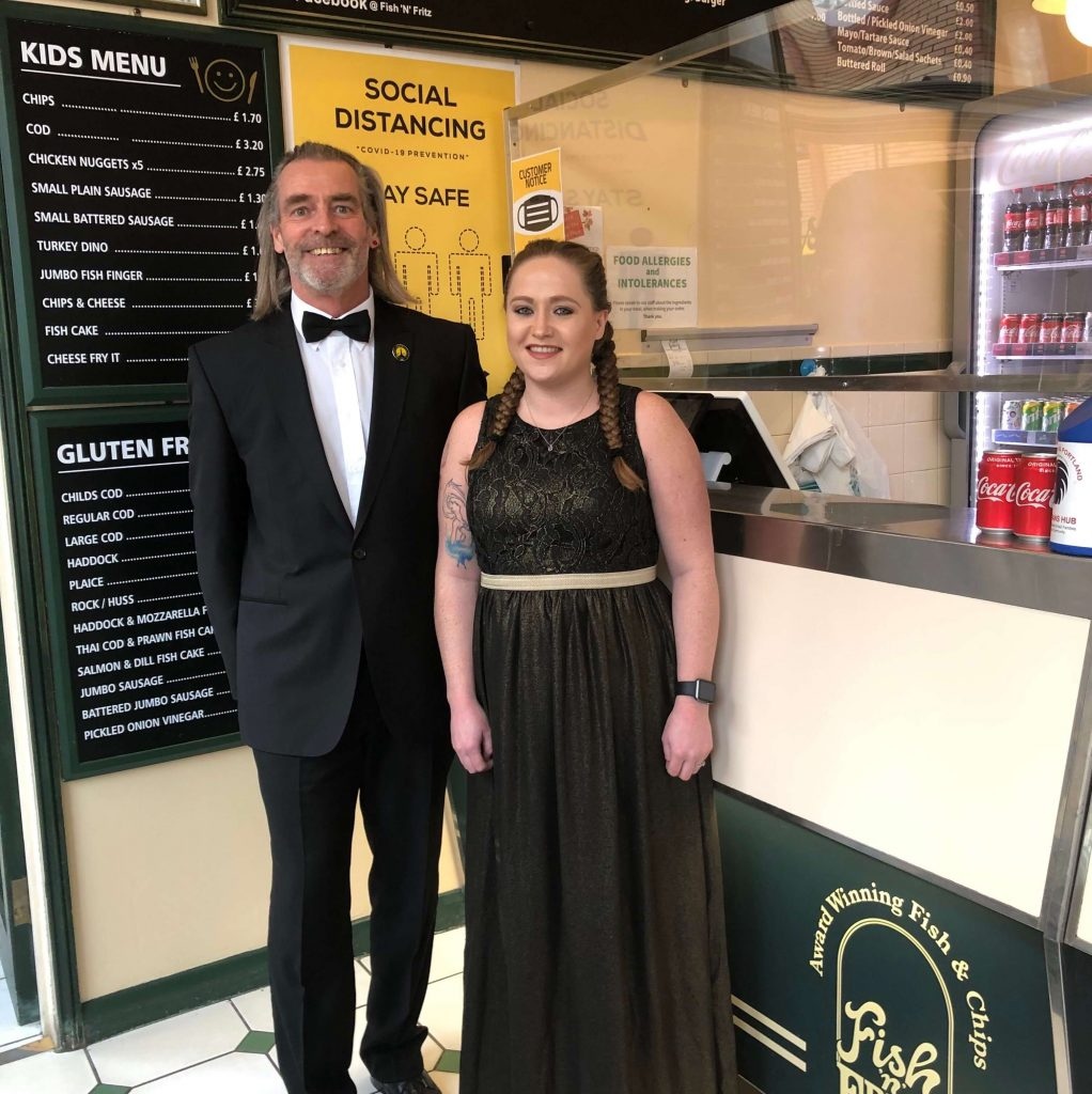 Dorset Tourism Awards 2020 - Casual Dining Category Winners - Paul Hay along with Simone Leanne