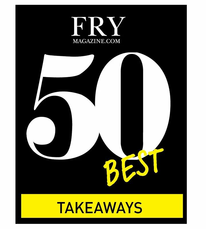 Fry Magazine UKs 50 Best Fish And Chips Takeaways Logo
